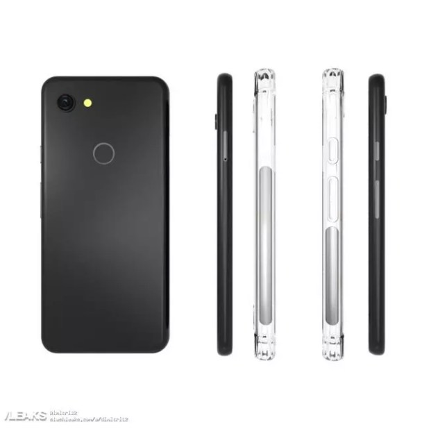 diseño del Google Pixel 3 Lite