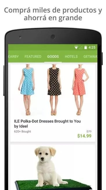 Groupon Android
