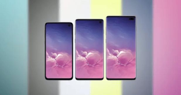 Samsung Galaxy S10 colores