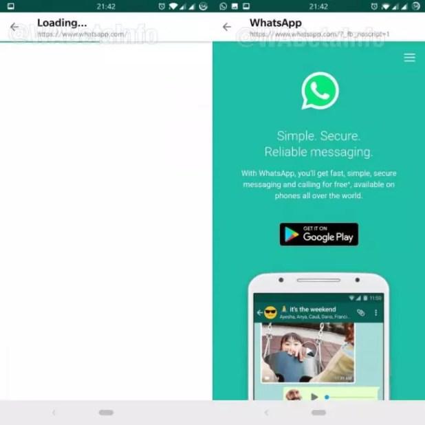 navegador whatsapp