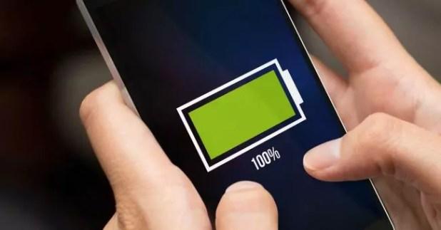 smartphone batería portada