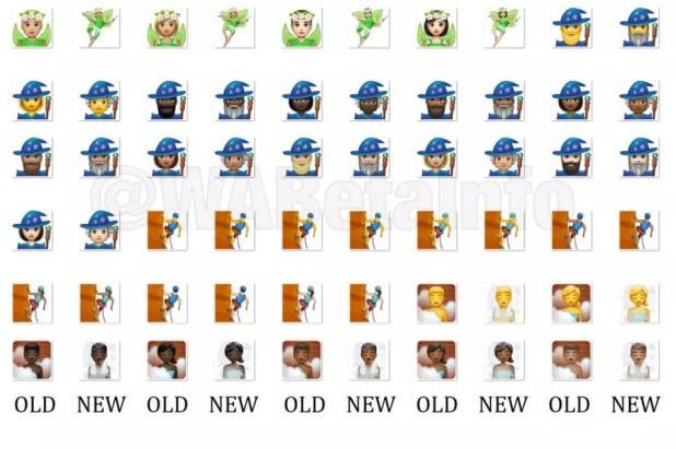 Nuevos emojis para WhatsApp para Android