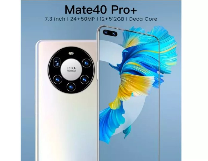 Do not pick on your Kings purchases with this fake Huawei Mate 40 Pro +