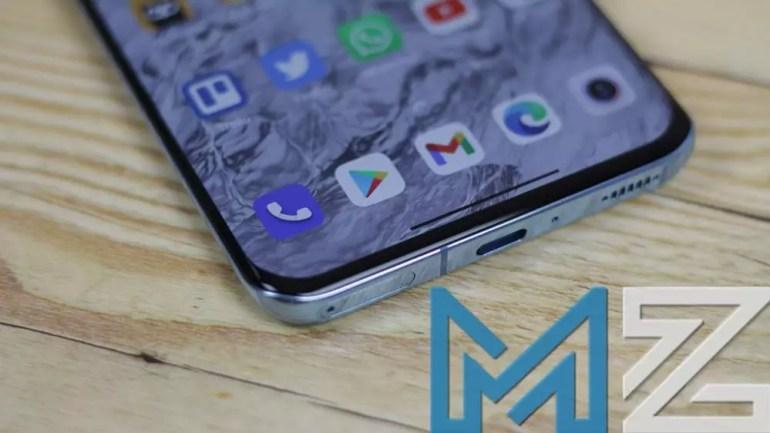 Xiaomi Mi 11 screen corner