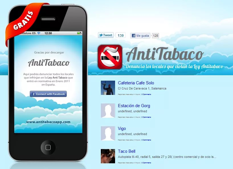 IPHONE 4 LEY ANTITABACO