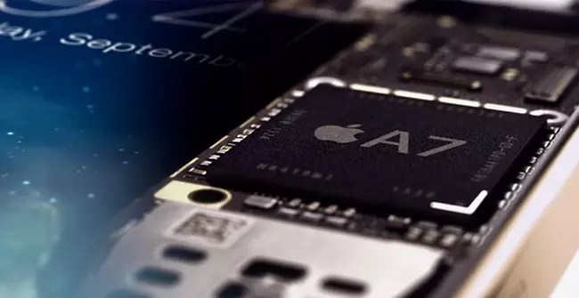 cuerpo chip a7 apple iphone 5s