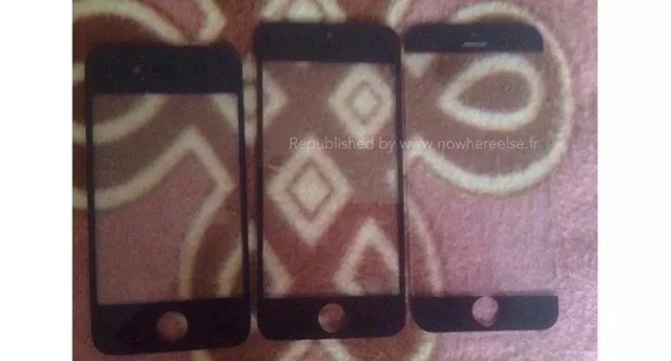 Parte frontal del iPhone 6