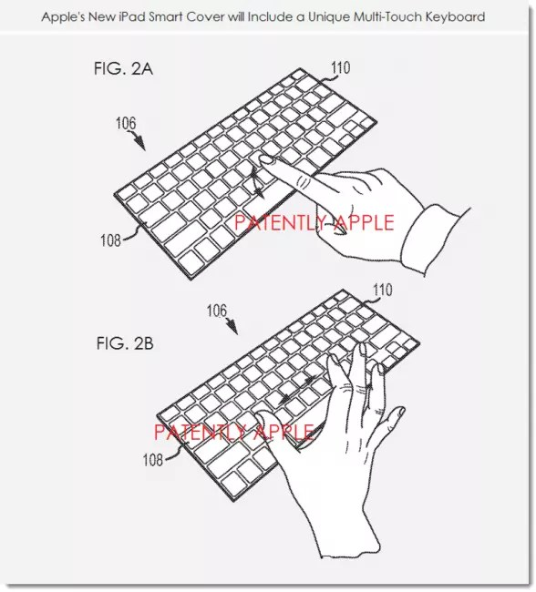 patente smart cover teclado