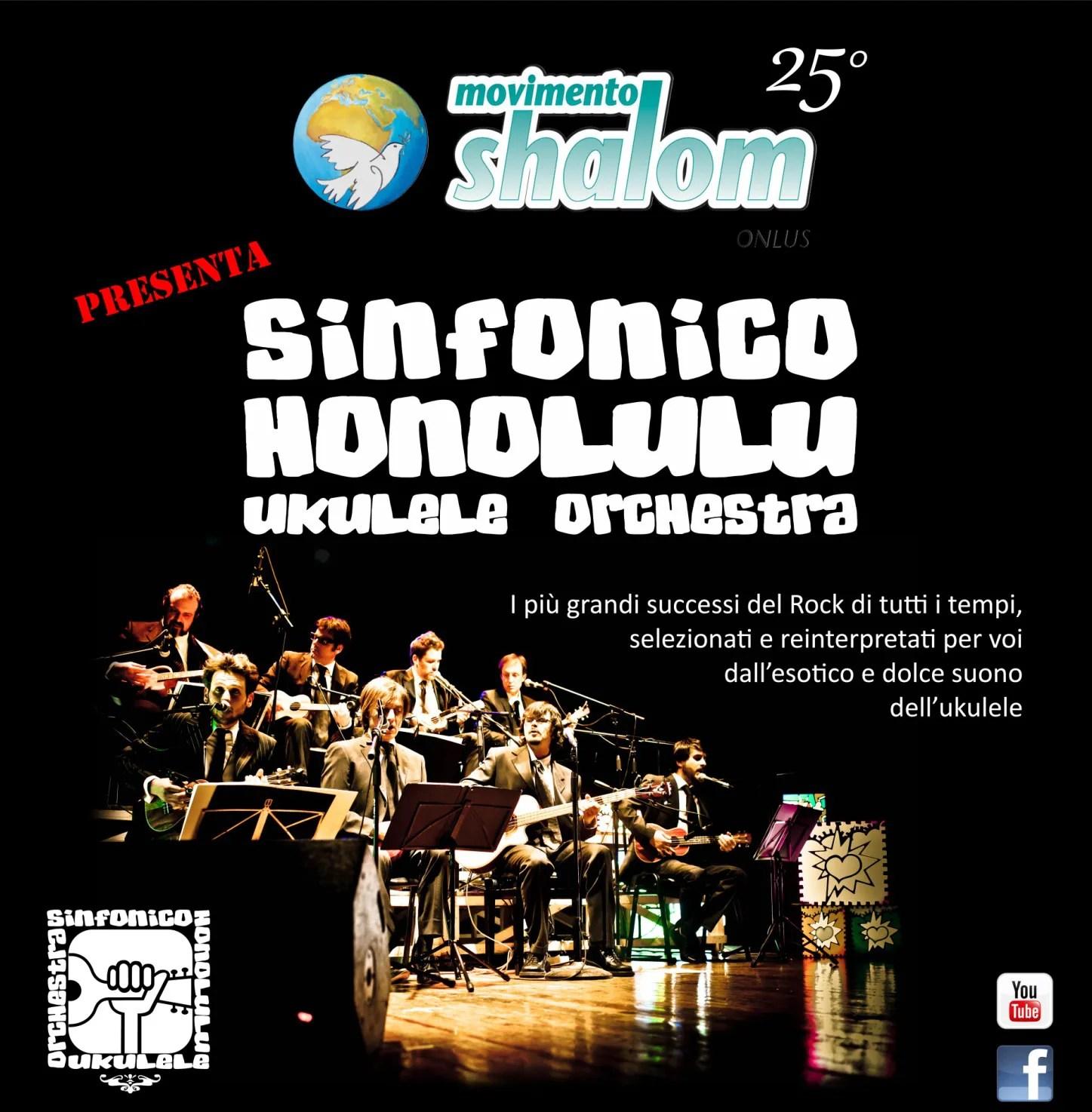 Ponsacco: Sinfonico Honolulu – Ukulele orchestra