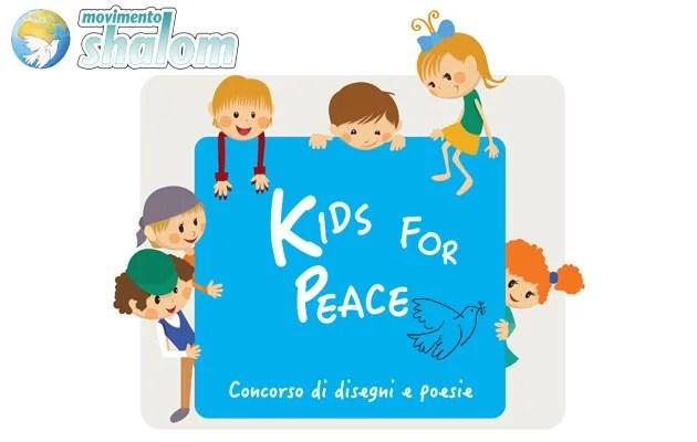 Kids for peace – Concorso di disegni e poesie