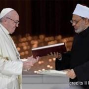 Il documento firmato ad Abu Dahbi da Papa Francesco e dal Gran Iman al-Tayyib e' la vera Santa Alleanza contro ogni guerra santa