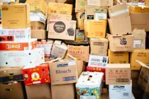 Packing possessions and finding the right storage unit