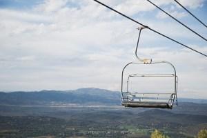 ski lift nature