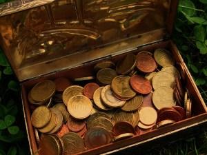A treasure chest.