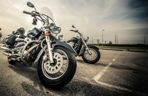 To prepare your motorcycle for transport, clean it thoroughly.
