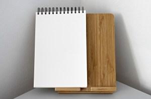A notepad.