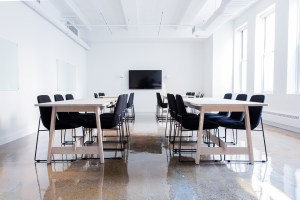 A conference room for local movers Clifton to relocate.