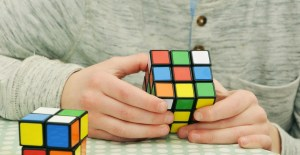 Rubik cube that represent how hard it can be Sharing storage with friends
