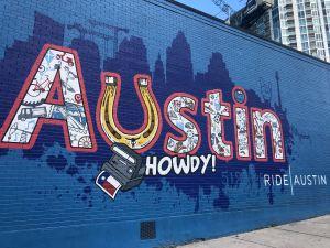 Austin grafitti