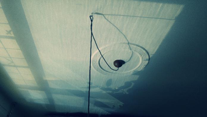 Het plafond van de een is de vloer van de ander. David Levine