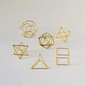 set de sólidos platónicos