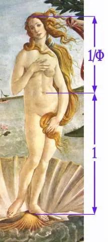 la proporción áurea y el arte