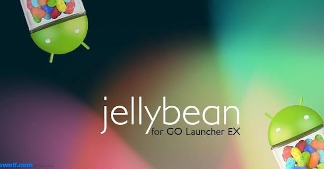 ثيم Jelly Bean اخر اصدار من اندرويد لاجهزة اندرويد
