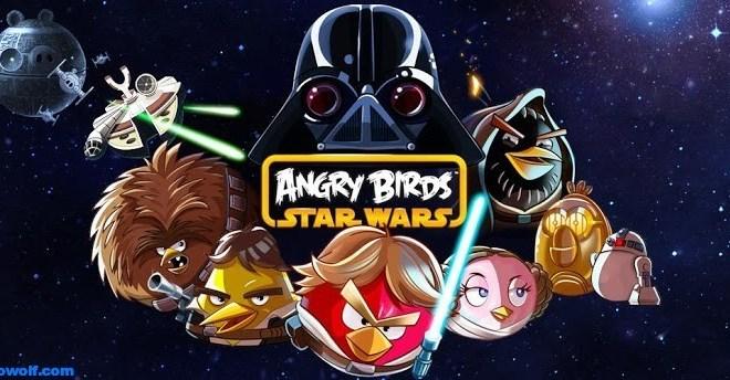 لعبة Angry Birds Star Wars الطيور الغاضبه 2012 لاندرويد