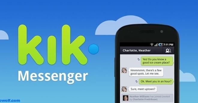 تحميل مسنجر كيك Kik لجميع انواع الهواتف 2013
