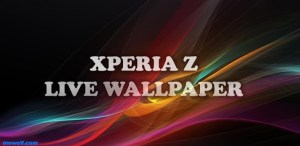 Xperia Z Live Wallpaper