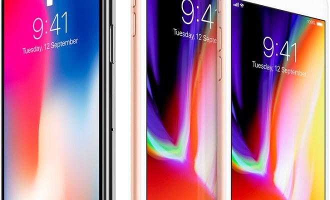 ايفون 8 و ايفون X الجديدان : مواصفات و صور و اسعار