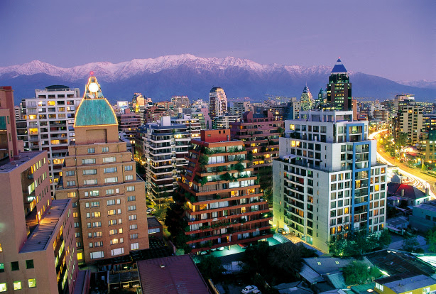 Modern and traditional Santiago