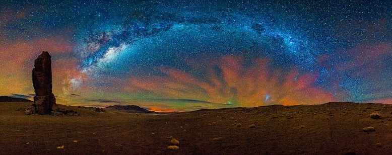 Chile Atacama starry night
