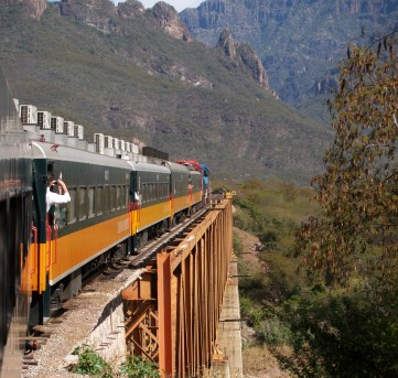 Copper Canyon Rail Journey