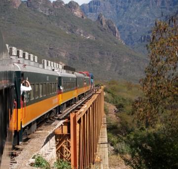 Copper Canyon Rail Journey