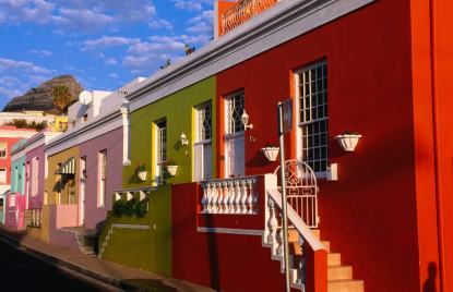 South Africa Cape Town Bo-Kaap - Old Malay Quarter