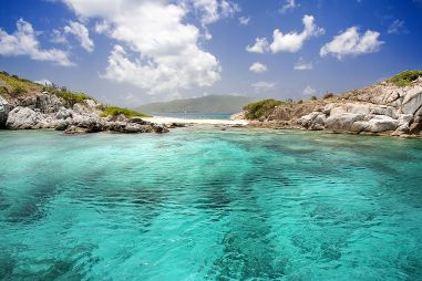Crystal clear waters for snorkelling