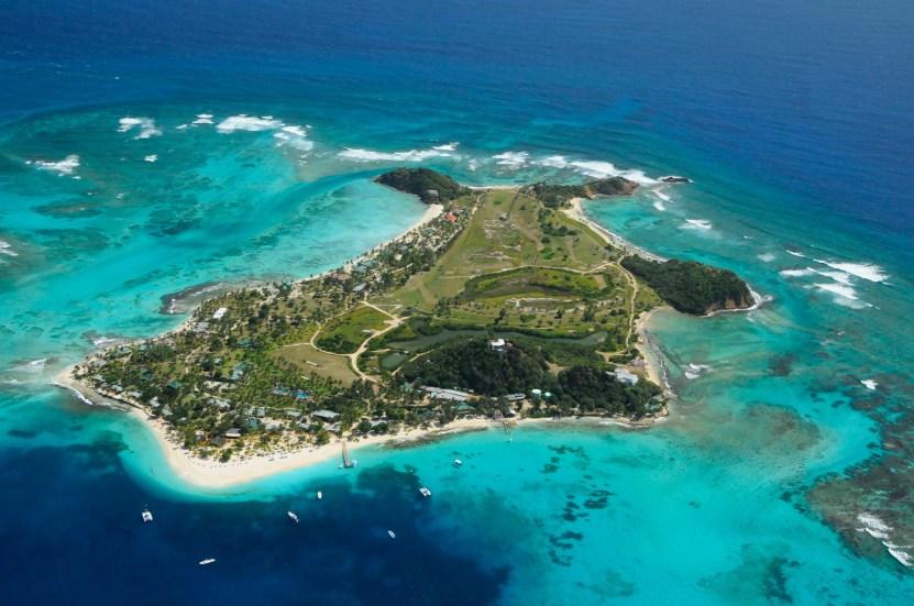 Palm Island aerial view