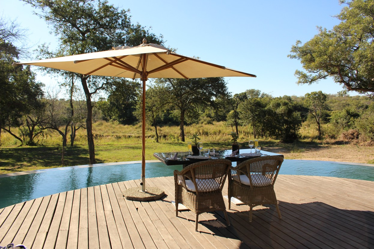 Lunch at Thornybush River Lodge
