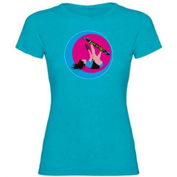 Camisetas Turquesa niña Kite girl