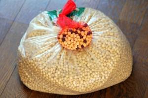 今回は地元「美里大豆」と自分で作った豆のブレンド