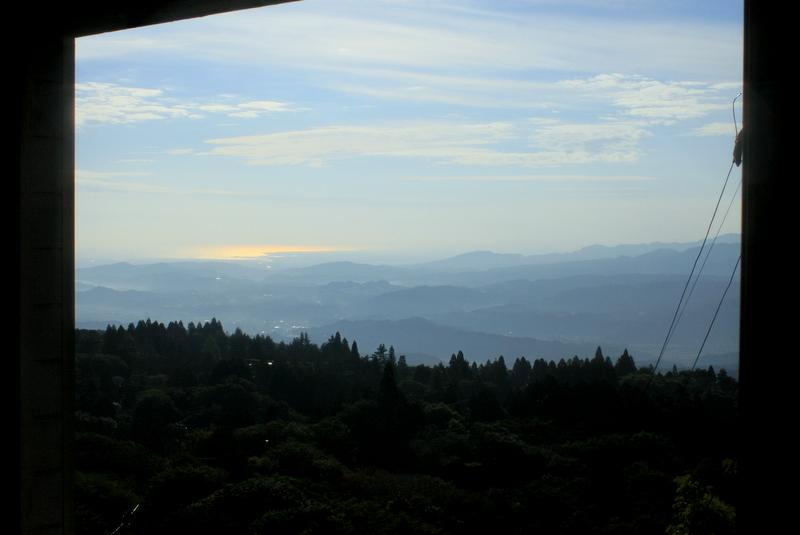 会場窓からの風景(2日目の朝)