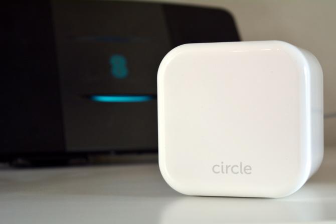 Circle Home Plus et routeur jumelés