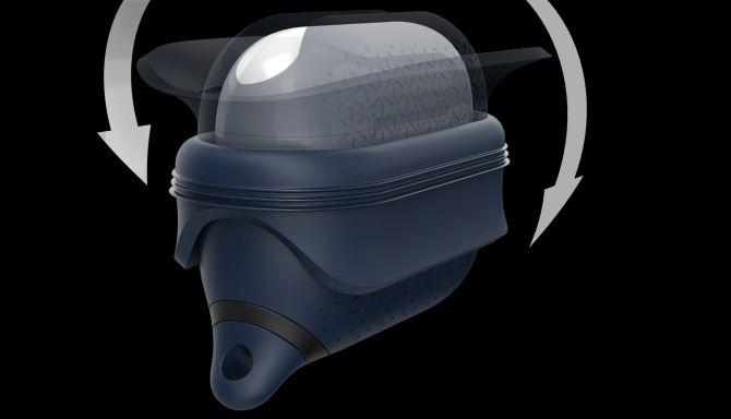 Étui étanche AirPods Pro Catalyst avec rabat ouvert.
