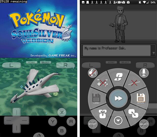 Émulateur Pokémon DraStic Nintendo DS pour Android