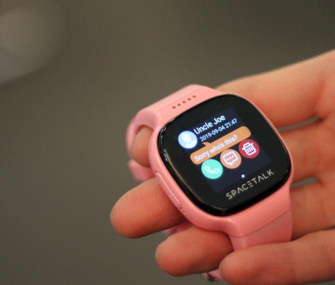 Spacetalk ist eine Smartwatch für Kinder
