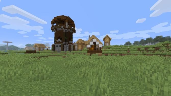 minecraft pillager outpost spawn in village