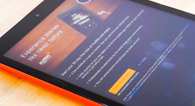 Amazon Fire HD 10 (2017) Review: La meilleure valeur de la tablette autour de Fire HD 10 Review AudibleW
