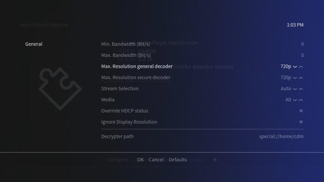 Configurer la résolution sur le module complémentaire Netflix