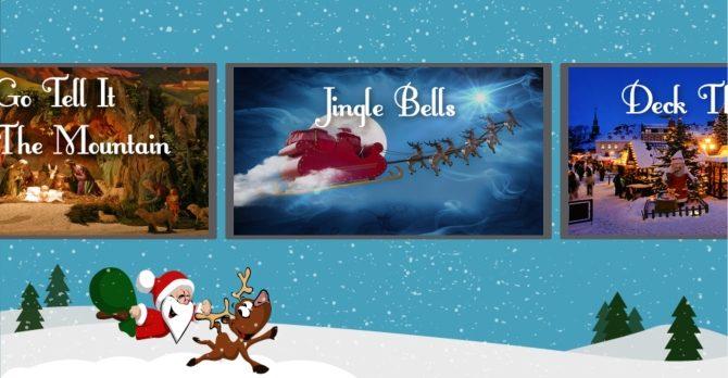 Application Chansons de Noël